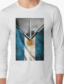 Flags - Argentina Long Sleeve T-Shirt