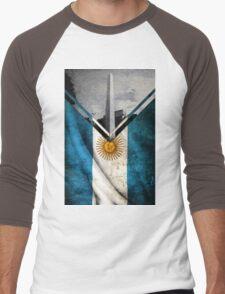 Flags - Argentina Men's Baseball ¾ T-Shirt