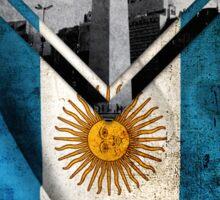 Flags - Argentina Sticker