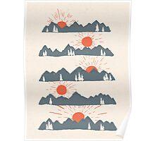 Sunrises...Sunsets... Poster