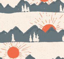 Sunrises...Sunsets... Sticker