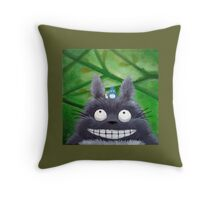 Forest Keepers Throw Pillow