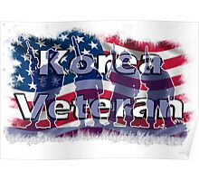 Korea Vetreran Poster