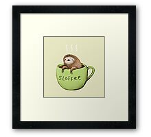Sloffee Framed Print