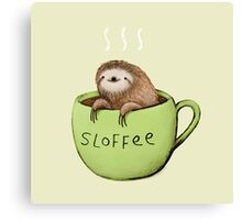 Sloffee Canvas Print