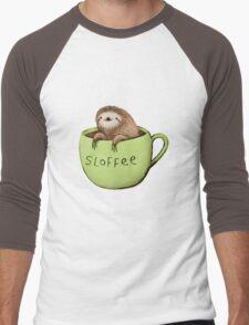 Sloffee Men's Baseball ¾ T-Shirt