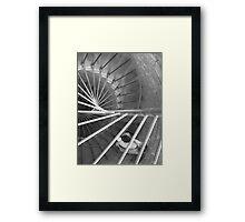 Going Against the Downward Spiral Framed Print