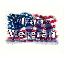 Iraq Veteran Art Print