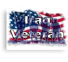 Iraq Veteran Canvas Print