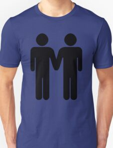 Gay couple Unisex T-Shirt