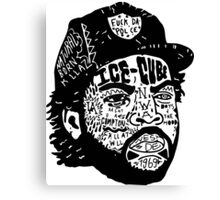 Ice-Cube Canvas Print