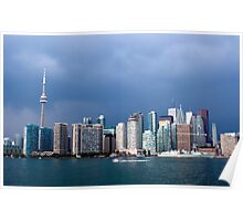 Toronto before storm Poster