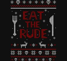 EAT THE RUDE - ugly christmas sweater #2 Long Sleeve T-Shirt