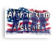 Afghanistan Veteran  Metal Print