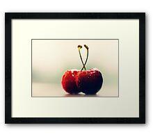 Kirschen Traum Framed Print