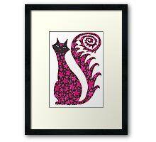 Birthday Cat  Framed Print