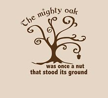 Mighty Oak Tree Womens Fitted T-Shirt