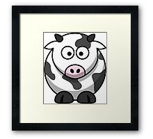 Silly Cow Framed Print