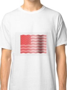 Pink Stars and Stripes Classic T-Shirt
