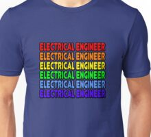 Rainbow Electrical Engineer Unisex T-Shirt