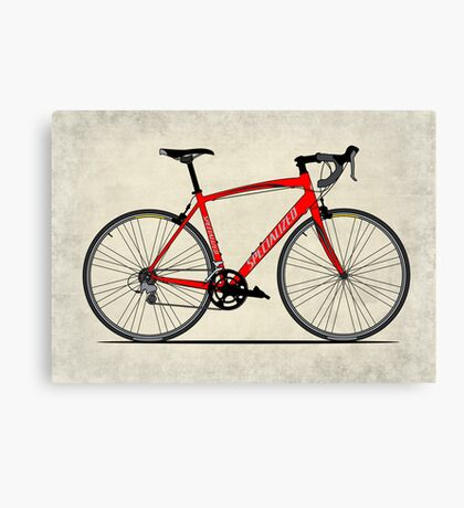 Specialized Race Bike Canvas Print