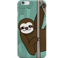 Kawaii sloth iPhone Case/Skin