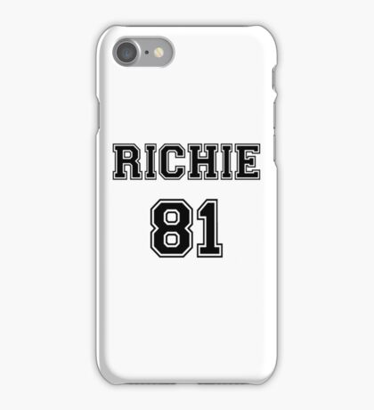 Nicole Richie 'RICHIE 81' Sportive / Football Jersey Look iPhone Case/Skin