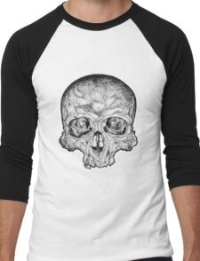 Ink Skull Men's Baseball ¾ T-Shirt