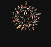 Floral Anti-Possession Symbol T-Shirt