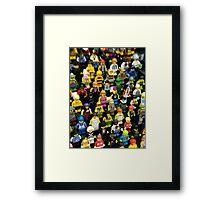 Lego Parade Framed Print