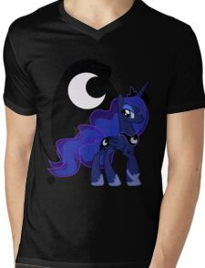Princess Luna Mens V-Neck T-Shirt
