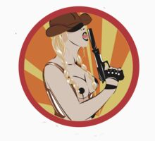 Pin Up Cowgirl by bettypearl