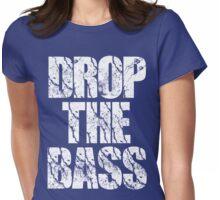DropTheBass Womens Fitted T-Shirt