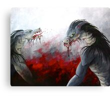 Frenzy Canvas Print