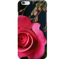 Astounding Blossom ~ Pink Rose iPhone Case/Skin