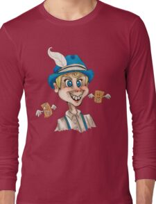 Creepy Toaster Strudel Boy Long Sleeve T-Shirt