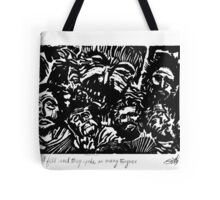 And the Spirit Fell Tote Bag