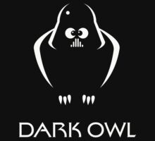 Dark Owl (Science Fiction) Kids Tee