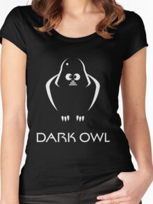 Dark Owl (Science Fiction) Women's Fitted Scoop T-Shirt