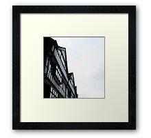 staple inn Framed Print