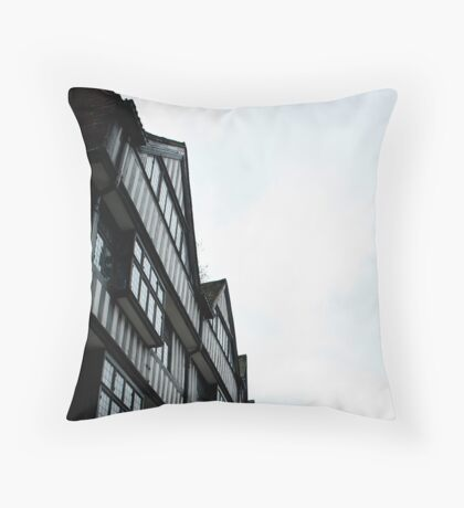 staple inn Throw Pillow