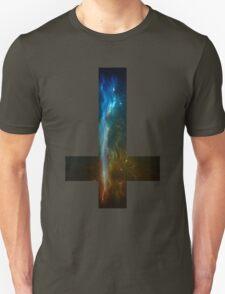 Upside down cross sticker/t-shirt T-Shirt