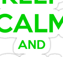 Keep Calm And Call Saul Sticker