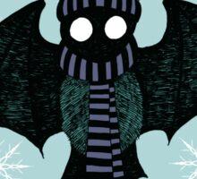 Winter Bat Sticker