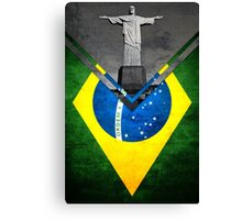 Flags - Brazil Canvas Print
