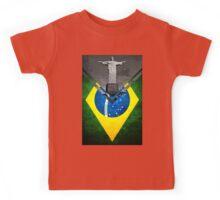 Flags - Brazil Kids Tee