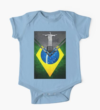 Flags - Brazil One Piece - Short Sleeve