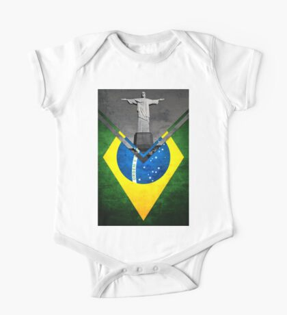 Flags - Brazil One Piece - Short Sleeve