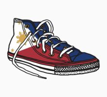 Pinoy Shoe One Piece - Short Sleeve