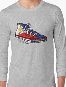 Pinoy Shoe Long Sleeve T-Shirt